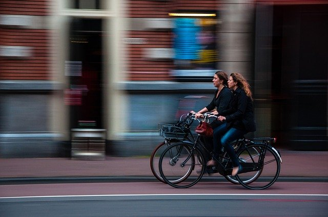 fietsen naar het werk voordelen